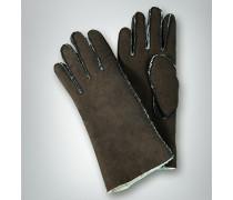 Handschuh aus Veloursleder