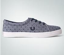 Schuhe Sneaker mit Punkte-Dessin