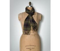 Schal im Karo-Dessin
