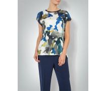 Blusenshirt mit Camouflage-Print