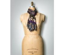 Schal aus Seide im Patchwork-Stil
