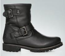 Schuhe Stiefelette mit zwei Schließen