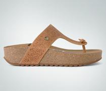 Schuhe Zehensandalen mit Rosen-Cut-Out