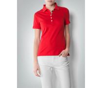 Polo-Shirt mit Karo-Detail