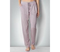 Nachtwäsche Pyjama-Pants im Allover-Dessin