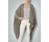 Pullover Poncho aus Leinen