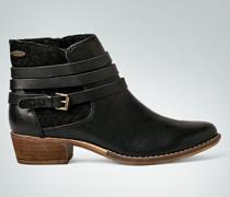 Schuhe Stiefelette mit Kontrasteinsatz