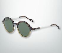 Brille Sonnenbrille mit Leoparden-Dessin