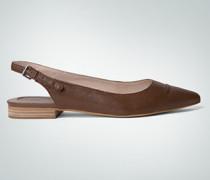 Schuhe Ballerina mit markanter Ziernaht