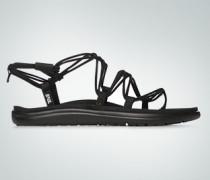 Schuhe Sandalen mit gekreutzem Riemen