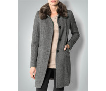 Mantel im Woll-Mix