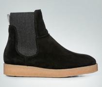 Schuhe Stiefelette mit Keilkreppsohle
