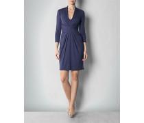 Jerseykleid mit sternförmiger Drapierung