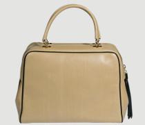 Handtasche aus Glattleder