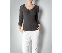Pullover mit Glanz-Faden in Grobstrick