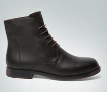 Schuhe Stiefeletten mit Kontrast-Intarsie