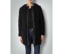 Wende-Mantel mit Fake Fur
