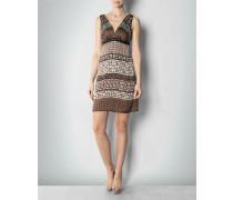 Kleid mit grafischem Ethno-Print