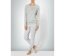 Nachtwäsche Pyjama im Casual-Look