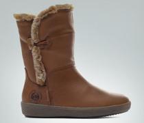 Schuhe Stiefel mit Fell-Detail
