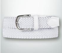 Gürtel Textilgürtel geflochten