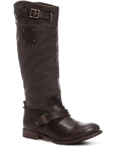 Caterpillar Footwear Damen Schuhe Stiefel, Leder, dunkel