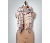 Schal in Karo-Design
