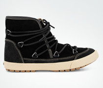 Schuhe Stiefelette mit Kunstfell-Futter