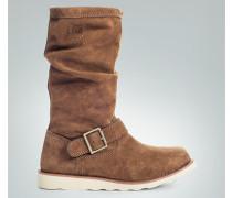 Schuhe Stiefel, Nubukleder
