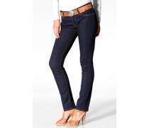 Jee Jeans Jade, solid blue