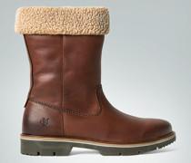 Schuhe Boots mit Kunstfell-Futter