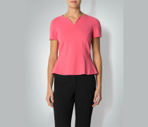 Shirt-Bluse mit Schößchen