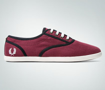 Schuhe Sneaker aus Herringbone Canvas