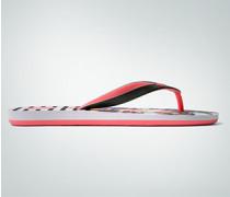 Schuhe Zehensandale mit Beach-Print