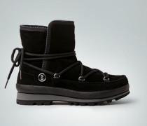 Schuhe Stiefelette im geschnürten Bootie-Style