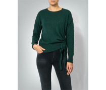 Pullover mit Raffung