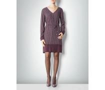 Kleid mit graphischem Allover-Dessin