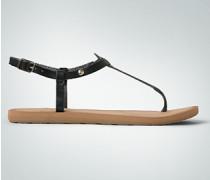 Schuhe Zehensandale mit Retro-Dessin