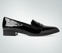 Schuhe Loafer aus Lackleder