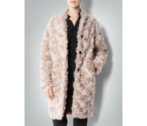 Mantel in Fake-Fur-Optik