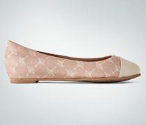Schuhe Ballerinas mit Logo-Dessin