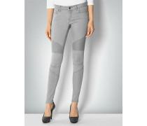 Jeans mit modischen Einsätzen