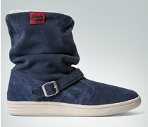 Schuhe Stiefelette in Veloursleder
