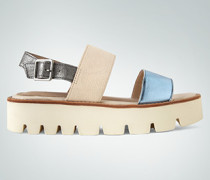 Schuhe Sandalen mit Glanzdetails