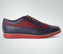 Schuhe Sneaker im Brogue-Look