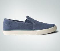 Schuhe Slip Ons aus geprägtem Veloursleder