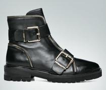 Schuhe Boots mit Schließen