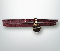 Gürtel Gürtel mit Logo-Anhänger