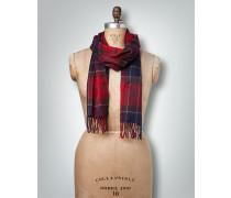 Schal im Karo-Design