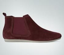 Schuhe Chelsea-Boot aus Veloursleder
